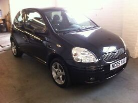 \\ CLOSING DOWN SALE PRICE // 05 TOYOTA YARIS 1.3 COLLECTION, 85000 MILES, MOT OCTOBER 2017.