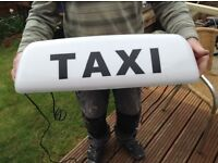 LED 24inch magnetic taxi roof sign