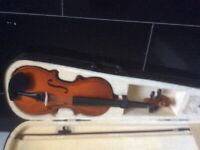Violin fiddle mint condition learn a new hobby beat lockdown boredom