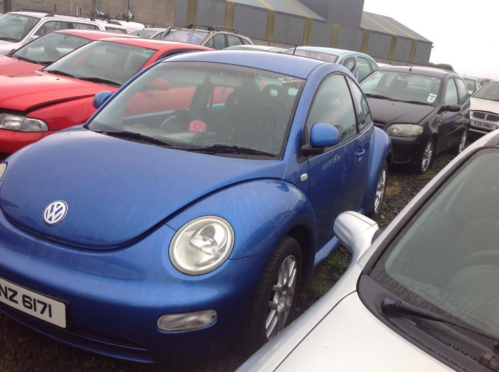 2000 VOLKSWAGEN BEETLE 2.0 PETROL BREAKING FOR PARTS ONLY POSTAGE AVAILABLE NATIONWIDE