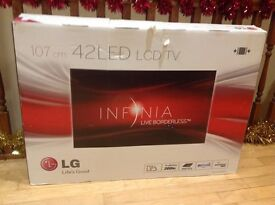 LG INFINIA Live Borderless 107cm 42LED LCD TV