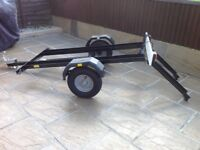 Dave Cooper Mobility Scooter / 2 motorcycle trailer