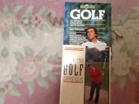 Two golf books useful for beginners