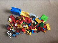 Lego duplo Thomas set and fire station set