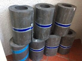 "Lead flashing 9""(240mm) 6meters rolls,code 4,£80 each"