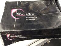 Eclipse Pair of chrone door handles