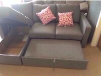 Brand New Corner Sofa Bed