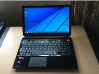 Toshiba Satellite L50D-B-147 Laptop, with AMD 2GHz Processor, 8GB Ram and 1TB Hard Drive