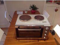 mini oven and hob - countertop morphy richards