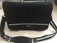 Polo Sport black/light grey over shoulder travel bag