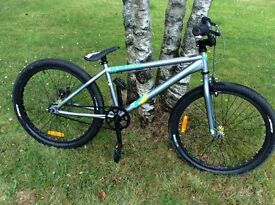 DMR Bikes Wrath 24 inch Grey Jump Bike