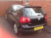 2005 VW Golf 1.9litre TDi Sport Black 12 months MOT £1950 ono