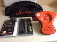 Alko Al-ko Caravan Wheel Lock Kit No 2 - Superb Condition