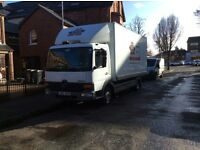 Mercedes atego box lorry