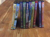 Scooby Doo DVD's x 10