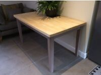 Beautifully restored dining/kitchen table