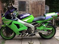 Kawasaki ZX6R Ninja Motorcycle. Manchester