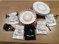 Thomas Sabo Rose Quartz Charm Bracelet + 6 charms