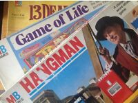 MB Games: Hangman, Game of life, 13 Dead end Drive