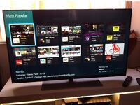 SAMSUNG 40-INCH SMART FULL HD LED TV- 40H5500,built in Wifi,Freeview HD,Excellent condition