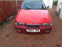 BMW 316i Compact . 85000 mls FSH & parts to put it on the road again .Complete car or may split