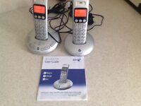 BT Graphite 3500 Twin cordless telephone