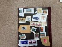 Mixture of stamps