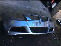 2010 ONWARDS BMW E90 E91 M SPORT LCI FACELIFT 3 SERIES FRONT BUMPER GENUINE