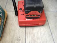 HILTI 2.4 lion battery 36 volt hardy bin used in good condition