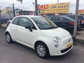 Fiat 500 1.2 petrol 2013 oneowner 37000 fsh long mot fullyserviced cheapwe car to run maypx
