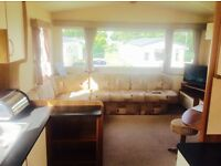 Cheap double glazed gas central heated 3 bedroom static caravan for sale