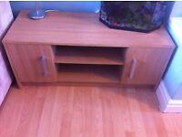 Wooden next TV unit