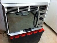 Whirlpool AVM955 Microwave with Integrated Extractor Hood