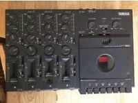 Multitrack cassette recorder.