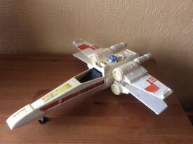 Old Star Wars Kenner 1977 X-wing- relisted