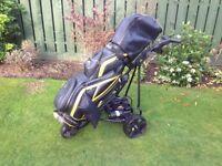 Powakaddy electric trolley and cart bag