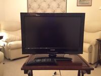 "TV Linear (John Lewis) 19""TV. Vgc LED, HD, built in Freeview. Cost £150 new"