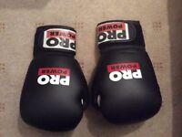 Pro Power brand new boxing gloves