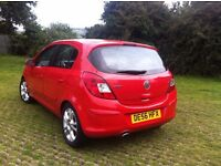 Corsa 1.2 SXi, red. Lady owner. 76'000 miles. 56 plate. Good condition. Recently passed MOT.