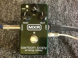 MXR Carbon copy analog delay pedal VGC