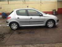 PEUGEOT 206 SEPT MOT ONLY £400 very good price