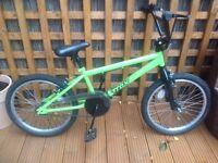 Child's bmx style bike