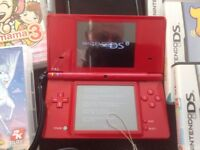 Nintendo DS red plus games