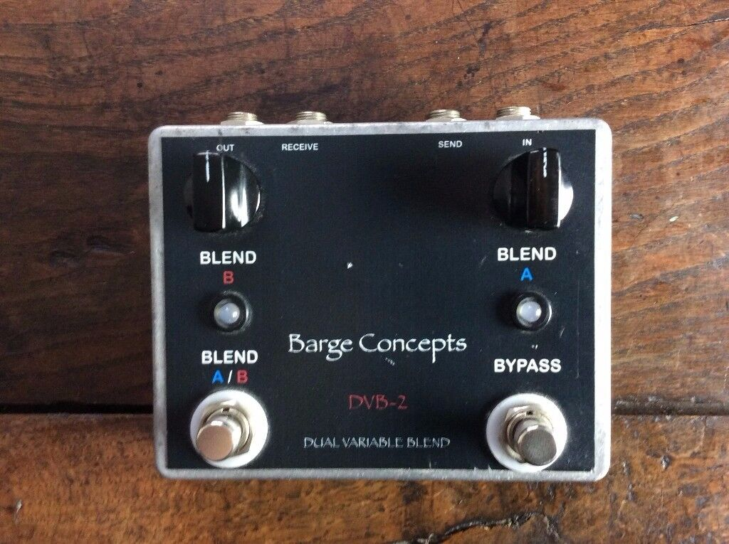 Barge Concepts DVB-2 Dual Variable Blend / Wet Dry Mix / Effects Loop