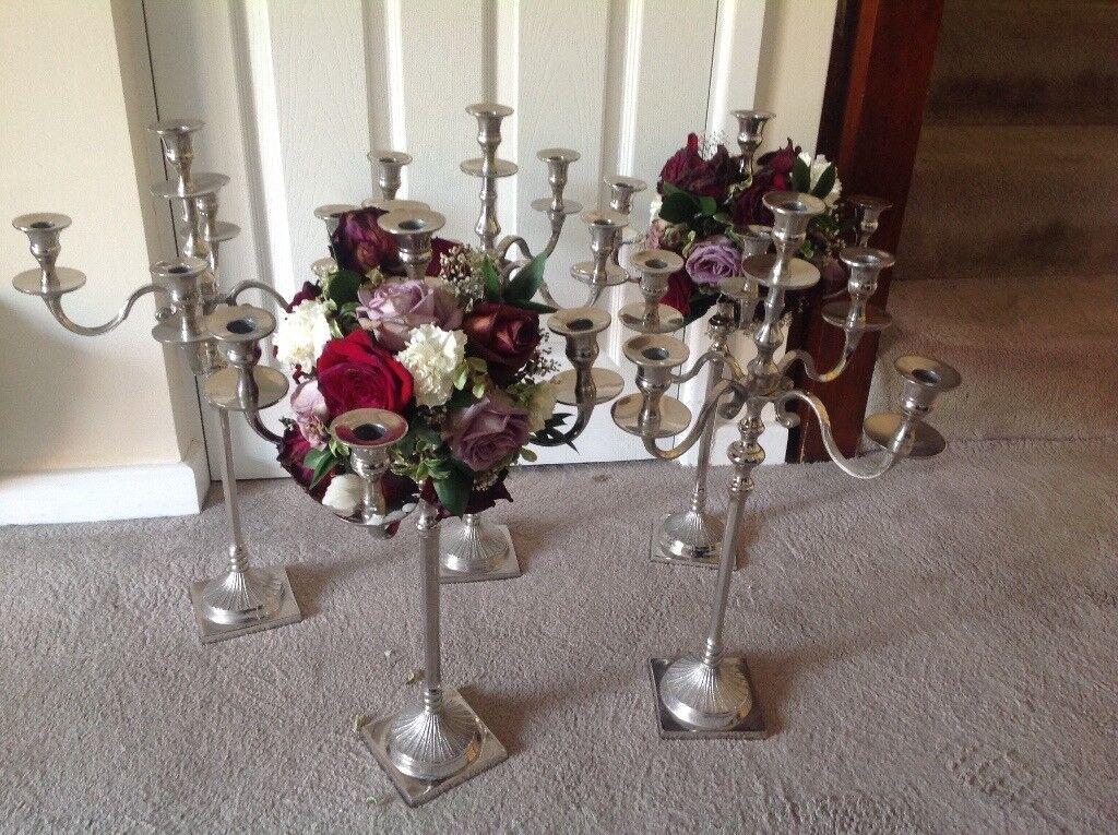 Candelabras for wedding