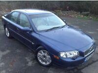 2003 52 VOLVO S80 2.4 D5 DIESEL - GREAT VALUE LUXURY CAR, 12 MONTHS MOT, NEW CLUTCH AND FLYWHEEL!!.