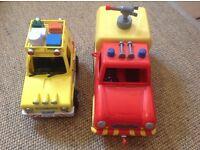 Fireman Sam Venus vehicle and rescue vehicle
