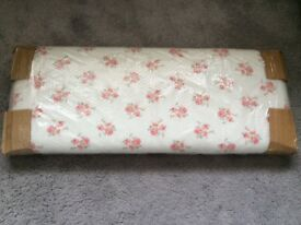 Children's single bed headboard-Rose pattern, BRAND NEW