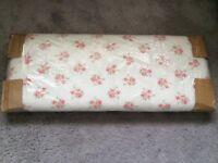 Children's single bed headboard-Rose pattern, BRAND NEW