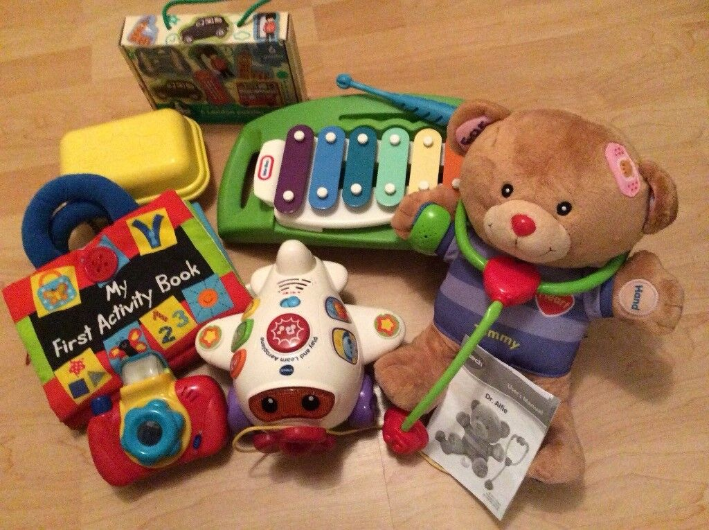 Toddler toy bundle including VTech, Little Tikes, ELC and Tomy